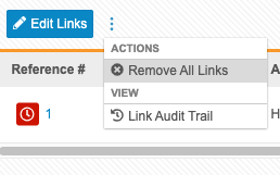 Removing Form Links
