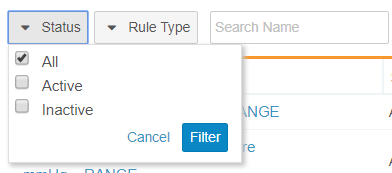 Search and Filter Query Rules