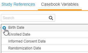 Add a casebook variable